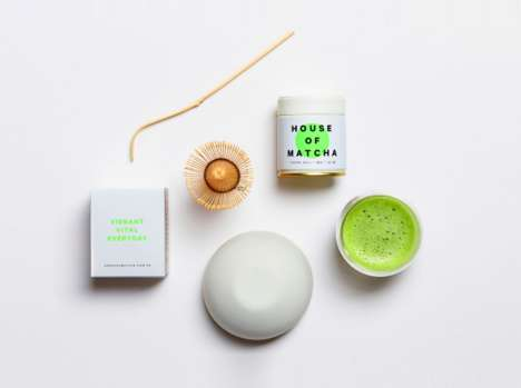 Ceremonial Green Tea Sets - House of Matcha Puts a Modern Twist on Traditional Japanese Tea Ritual