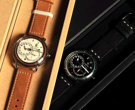 Modern-Vintage Hybrid Watches