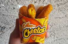 Macaroni-Filled Cheese Puffs