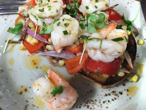 Health-Conscious Italian Menus - Tamarina is a Miami Restaurant Serving Up Coastal Italian Cuisine