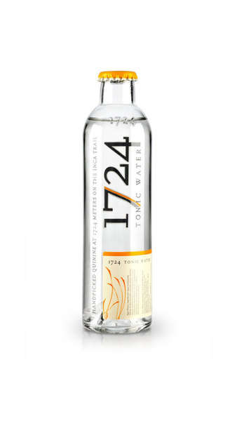 Premium Tonic Water - The Upscale 1724 Tonic Water is Designed to Complement Luxury Spirits