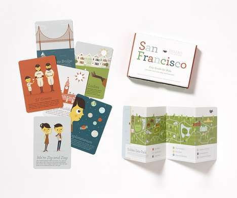 Kid-Friendly City Guides - ZigZag's City Guide for Kids Comes in a Fun and Educational Kit