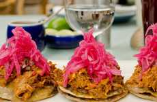 Seasonal Mexican Food Menus - Mexico's Azul Restaurantes Offers a Gourmet Menu of Healthy Eats