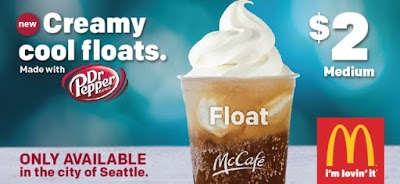 Creamy Fast Food Floats - The New Dr. Pepper Floats are an Indulgent Summer Treat