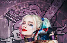 Villainous Film Posters - These Suicide Squad Posters Pay Tribute to Each of the Characters