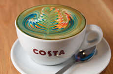 LGBT-Supporting Lattes - Costa Coffee is Serving Up Rainbow Lattes in Support of Pride Celebrations