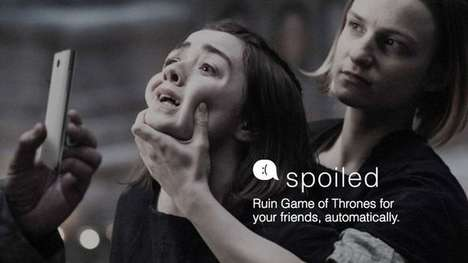 Medieval Show-Spoiling Apps - This App Works by Automatically Sending Game of Thrones Spoilers