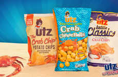 Seafood-Flavored Cheese Snacks - The New Crab Cheese Balls from Utz are Made with Crab Seasoning