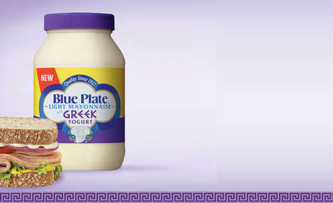 Greek Yogurt-Based Condiments - Blue Plate's Light Mayonnaise is Made with Tangy Greek Yogurt