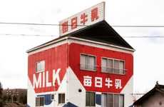 Milk Carton-Shaped Homes