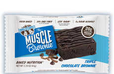 Nutrient-Dense Brownies - These Single-Serve Protein Brownies are Ideal for Refueling on the Go