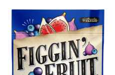 Fig-Shaped Fruit Snacks - Figgin' Fruit Combines Fruit and Grains in an Inventive Shape
