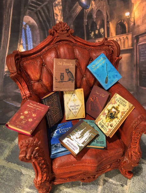 Small-Scale Fantasy Books - These Miniature Books Are Inspired by the Harry Potter Series