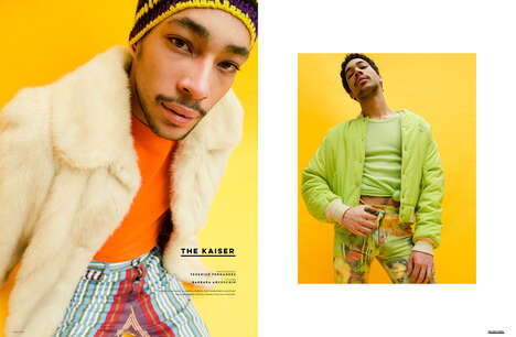 Thrifty Streetwear Editorials - 'The Kaiser' Story for The Ones 2 Watch Features Eclectic Clothes