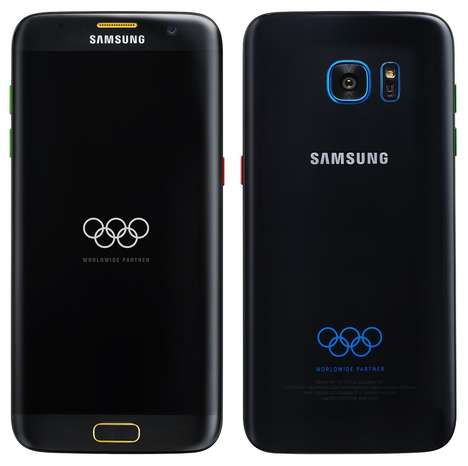 Olympic Edition Smartphones - The New Samsung Galaxy S7 Edge Comes with the Olympic Logo