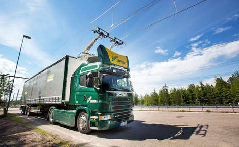 All-Electric Highways - Siemens and Scania Created a Highway in Sweden to Reduce Carbon Emissions
