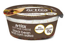 Dairy-Salsa Hybrids - This Artisa Product Combines Cottage Cheese and Salsa