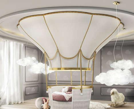 Hot Air Balloon Beds