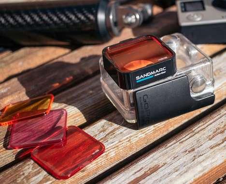 Aquatic Filtered Camera Cases