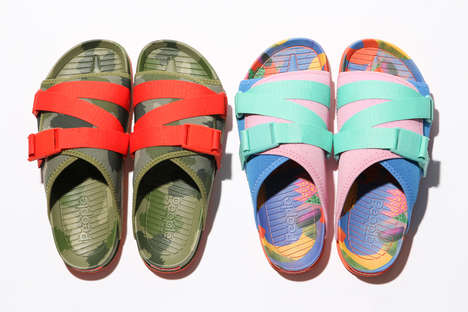 Casual Colorful Sandals - People Footwear Released Two Vibrant Sandal Variations for Summer