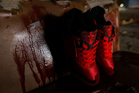 Beast-Inspired Sneakers - 24 Kilates Helped to Create Shoes Made with Fear and Gore in Mind