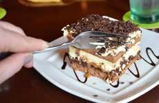 Chocolate Lasagna Desserts - Olive Garden's Chocolate Caramel Lasagna is a Decadent Layered Dessert