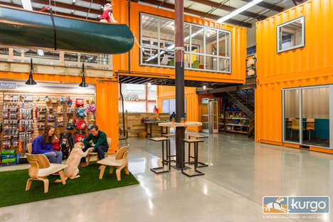 Dog-Friendly Office Spaces - Kurgo Allows Workers to Bring Pets to Work to Interact with Products