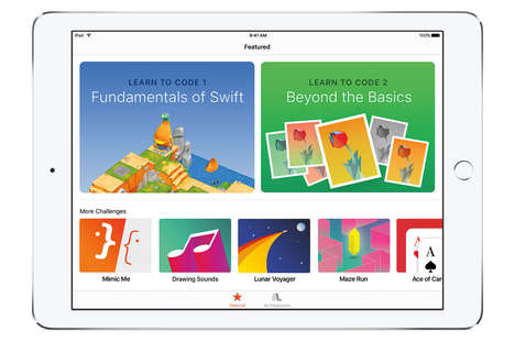 Gamified Programming Apps - Apple's 'Swift Playgrounds' Teaches Kids to Code Through Play
