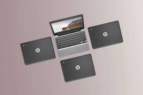 Affordable Touchscreen Chromebooks - The HP 11 G5 Offers a Cost-Effective Laptop to Access Apps On