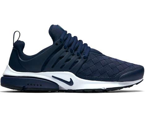 Biomorphic Woven Sneakers