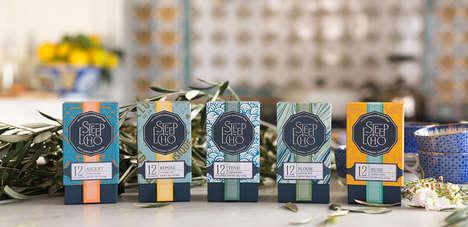 Olive Leaf Teas - 'Steep Echo' Makes All-Natural Caffeine-Free Herbal Tea Blends