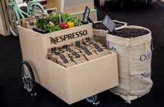 Sustainable Coffee Carts - 'Nespresso on Wheels' Shares Nespresso Coffee Pods' Recycling Efforts