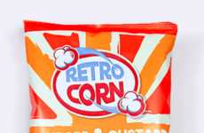Candy-Coated Popcorn - Retro Corn Combines Candy and Popcorn for Snacking