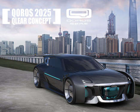 Purifying Concept Cars - The QClear Vehicle Cleans and Reduces Urban Air Pollution While it Drives