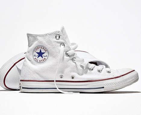 Customizable High-Top Sneakers