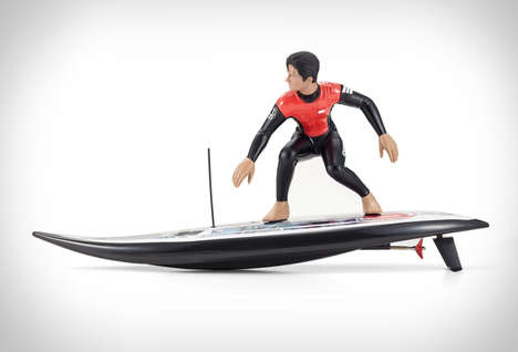 Motorized Surfer Figurines - The RC Surfer 3 is a Mechanical Toy That Simulates Carving a Wave