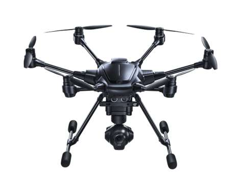 Obstacle-Evading Drones - The Typhoon H Pro Drone Uses Intel RealSense Technology