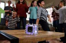 Cubic Child-Centric Speakers