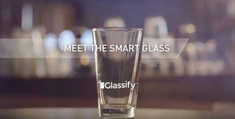 Smart Beer Cups - 'Glassify' Offers Customers Discounts with Use and Collects Big Data