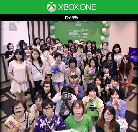 Girls-Only Gamer Parties - Microsoft Japan Threw an Xbox Party Exclusively for Girl Gamers