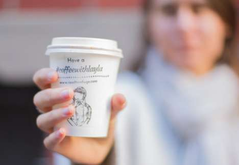 Refugee Coffee Cups - Road to Refuge Partnered with Cafes to Spread Awareness About Refugees