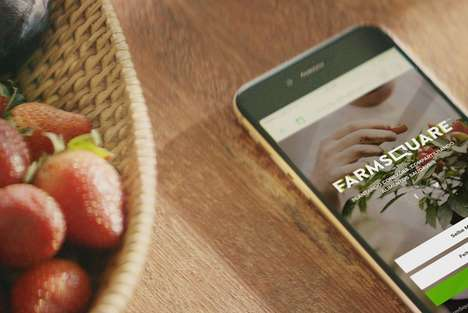Surplus Produce Apps - 'Farmsquare' Connects Consumers with Growers Who Have Extra Stock