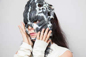 Björk Created a 3D-Printed Mask Using Her Facial Structure