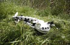 Printed Robot Salamanders - Thsi 3D-Printed Animal Replicates the Movements of an Amphibian