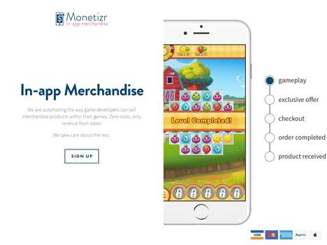 In-App Merchandise Frameworks - TheMonetizr Automates the Process for Game Developers to Sell Merch