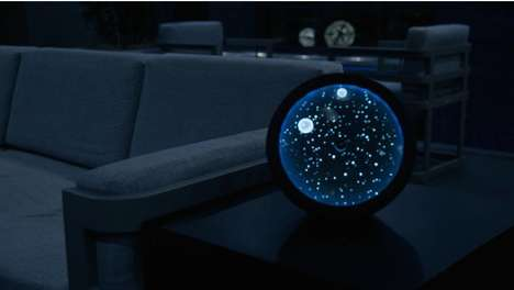Cosmic Bluetooth Speakers - Jay Hyun Kim's 'Cosmos' Speaker Celebrates Galactic Imagery