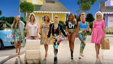 "Celebrity Mother Music Videos - Fergie's ""M.I.L.F.$"" Music Video Features a Ton of Celeb Moms"