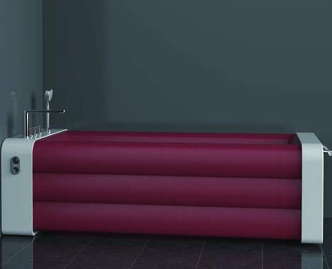 Space-Saving Inflatable Bathtubs