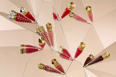 Scented Lip Gloss Collections - The Christian Louboutin Loubilaque Range Features Fragrant Makeup