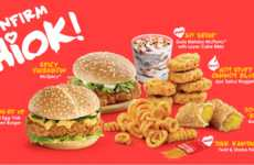 Singapore-Themed Resturant Menus - McDonald's New Singapore-Themed Menu Include Crab-Flavored Fries